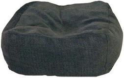 12 in. Thick Cuddle Cube Large Gray Non Slip Bottom Pet Bed