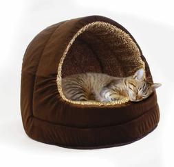 Milliard Premium Comfort Plush Cat Bed and Pet Cave - Sized