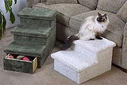 2 or 3 Level Pet Step with Optional Drawer : Color SPECKLED