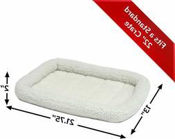 "22""Pet Bed Dog Cat Soft Fleece Warm Cotton Bed Cozy Mat Pad"