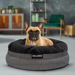 24 nest dog bed navy machine washable