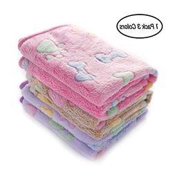luciphia 1 Pack 3 Blankets Super Soft Fluffy Premium Fleece
