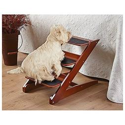 3-step Foldable Wood Pet Steps