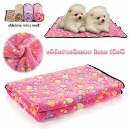 3 Pack Puppy Blanket Pet Cushion Small Dog Cat Bed Soft Self