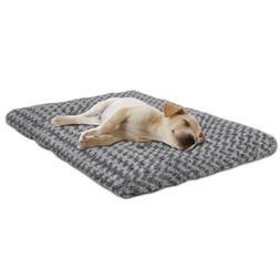"42"" Deluxe Faux Fur Cat Dog Plush Pet Bed Machine Washable N"