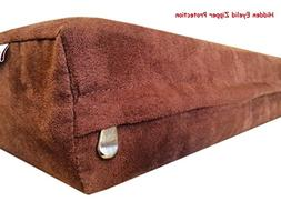 55''x47''x4'' MicroSuede Brown Duvet Gusset Comfort Durable