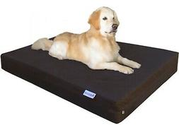 "55""X37""X8"" XXL Waterproof Orthopedic Gel Memory Foam Pet Bed"