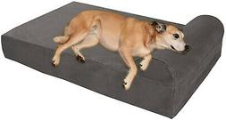 7 orthopedic dog bed with pillow top