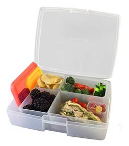 Bentology - Leak-proof Bento Lunch Box with 5 Removable Cont