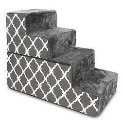Best Pet Supplies 4-Step Foldable CertiPUR-US Certified Foam
