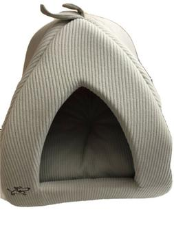 Best Pet Supplies, Inc. Tent Bed for Pets  Medium Grey Free