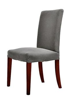 Chunyi Jacquard Polyester Spandex Small Checks Dining Chair