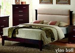 Coaster 201291Q Kendra Queen Platform Bed With Upholstered H