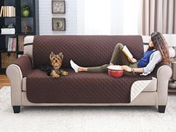 Elaine Karen Deluxe Reversible Sofa Furniture Protector, Cof
