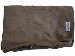 Dogbed4less External Pet Bed Cover with Zipper Liner for Ext