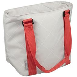 Insulated Lunch Bag - Large Carrier Tote With Zipper Closure