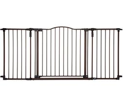 Supergate Deluxe Décor Gate, Bronze, Fits Spaces between 38