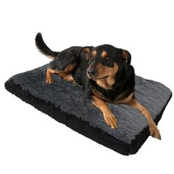 Paws & Pals Dog Bed for Pets & Cats - Fuzzy Foam Deluxe Prem