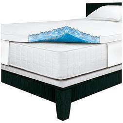 Serta Rest - Twin - 3 Inch Gel Memory Foam Mattress Topper -