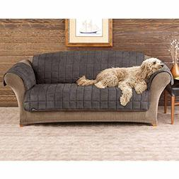 Sure Fit Deluxe Pet Cover  - Sofa Slipcover  - Sable