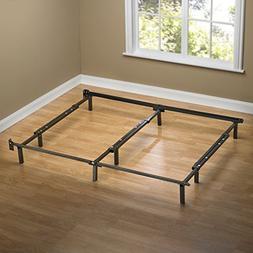 Zinus Compack Adjustable Steel Bed Frame Box Spring & Mattre