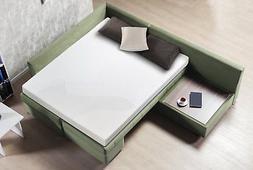 Zinus Cool Gel Memory Foam 5 Inch Sleeper Sofa Mattress, Rep