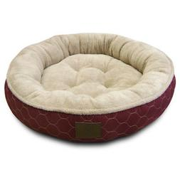 American Kennel Club AKC3198 Extra Large Round Pet Bed, Asso