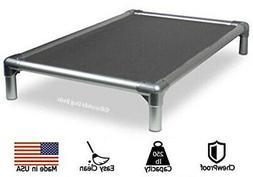 all aluminum dog bed 40oz vinyl fabric