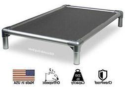 Kuranda All-Aluminum Dog Bed - Cordura Fabric - Grey