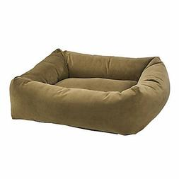 Bowsers Amber Microvelvet Dutchie Dog Bed
