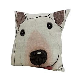 Nunubee Animal Home Car Decor Cotton Linen Throw Sofa Pillow
