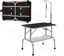 Animal Pets Salon FOLDABLE Grooming Bed Station Dog Table