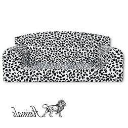 animal prints dalmation pet sofa dog