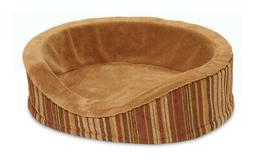 Petmate Antimicrobial Deluxe Oval Bolster Dog Bed