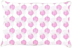 "Kess InHouse Apple Kaur Designs ""Wild Dandelions"" Pink Gray"