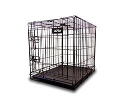 ASPCA AS6012M Folding Metal Pet Crate Kennel with Removable