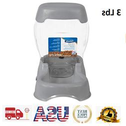 Automatic Pet Feeder Dog Cat Programmable Food Bowl Auto Dis