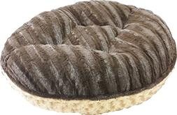 BESSIE AND BARNIE 42-Inch Bagel Bed for Pets, Large, Camel R