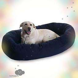 Majestic Pet Bagel Dog Pet Bed 52inch  NEW. CHEAP. FREE SHIP