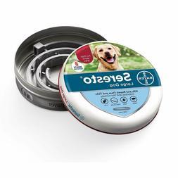Bayer Seresto Flea and Tick Collar for Large Dog,Free shippi