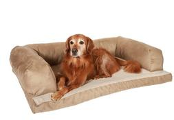 "Caddis Beasley's Couch Dog Bed PolySuede Tan Large 30"" x 40"""