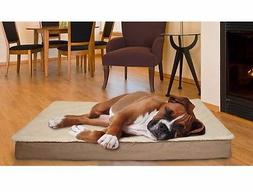 Bed Pet Furhaven Dog Nap Deluxe Ultra Plush Orthopedic Pillo