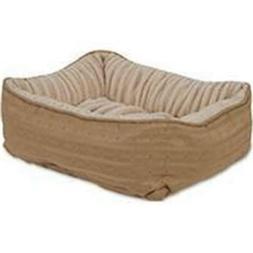 Petmate Inc-Beds-Nuzzle Lounger- Croissant 24 X 20 Inch 8025