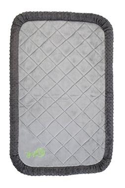 goDog BedZzz  with Chew Guard Technology, Large, Gray Bubble