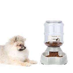 Best Cat Water Fountain Automatic Feeder Dog Dispenser 1 Gal