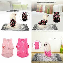 One Lovely Cotton Dog Cat Pajamas Nice Small Pet Puppy Jumps