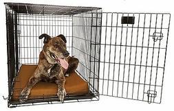 "Big Barker 4"" Orthopedic Dog Crate Pad. Waterproof. Mat fits"