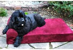 Big Barker 7-inch Pillowtop Orthopedic Dog Bed Headrest Edit