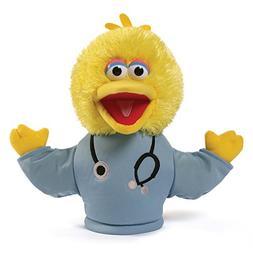 Sesame Street Sesame Street Big Bird Doctor Hand Puppet Plus