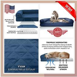 Big Dog Bed Sofa K9 Pet Warm Couch Great Dane Orthopedic Cus